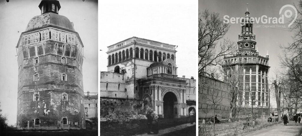загадки башен троице-сергиева монастыря