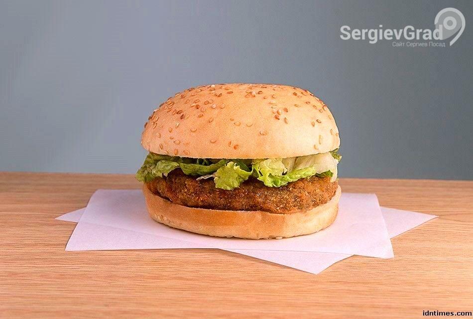 вегетарианский бургер в кфс.jpg