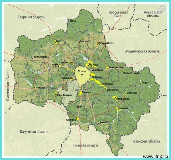 1 января 1929 года была образована Московская область