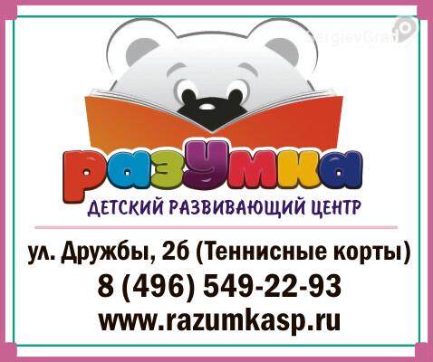 Детский развивающий центр Разумка