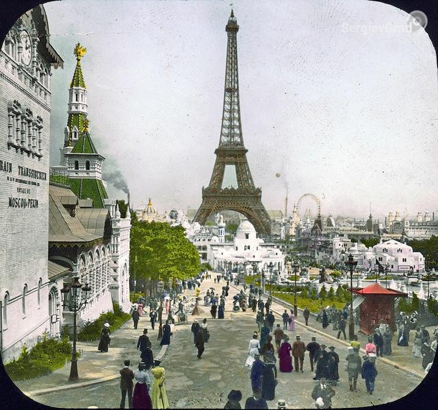 выставка 1900 русский павильон