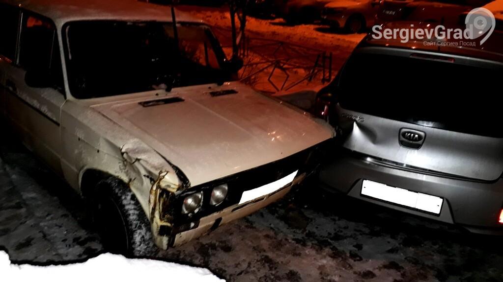 Сводка дорожно-транспортных происшествий в Сергиевом Посаде и районе с 30 ноября по 7 декабря
