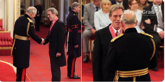 Хью Лори стал кавалером ордена Британской империи