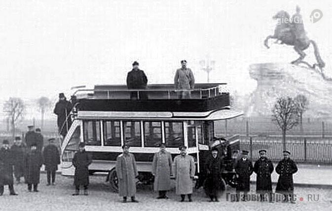 Двухэтажные автобусы 19 века