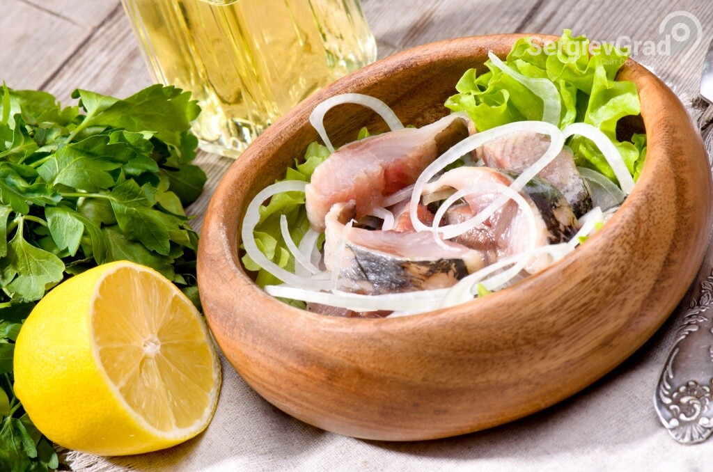 Селедка - закуска под водку №1