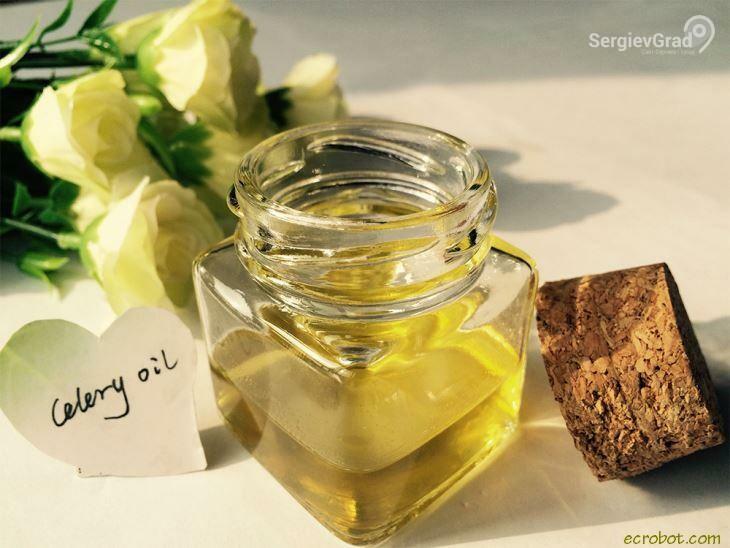 Масло сельдерея полезные свойства