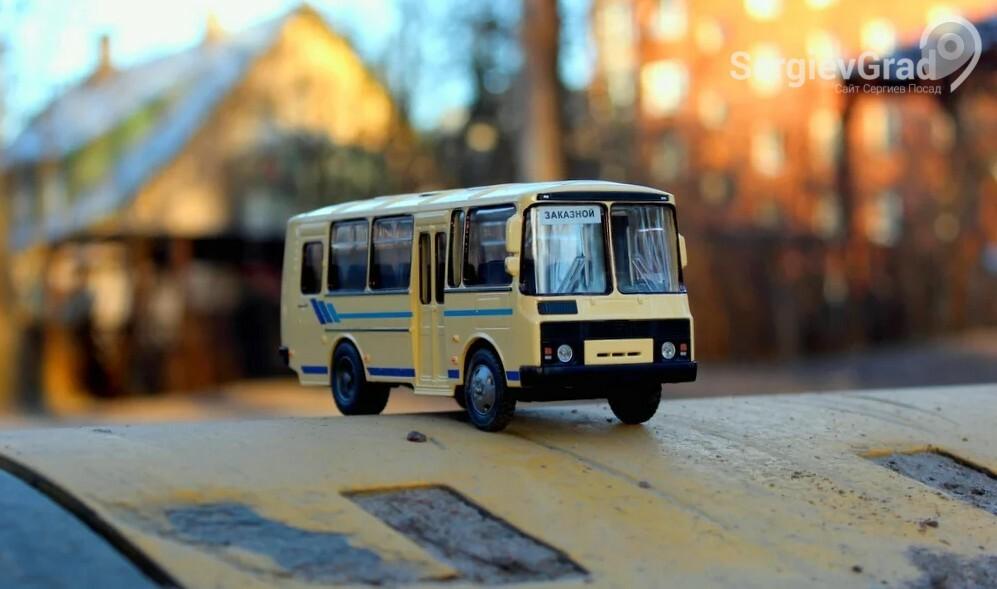 Модель автобуса