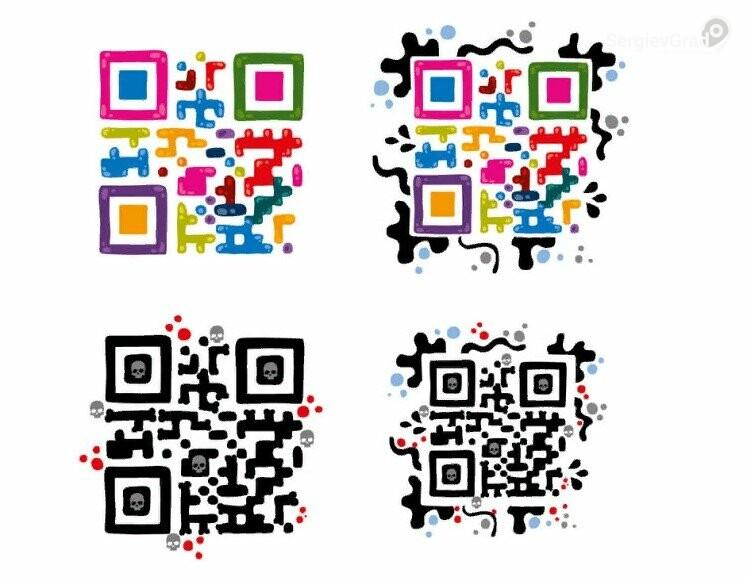 Идеи для творчества – подборка самых креативных QR-кодов, фото-6