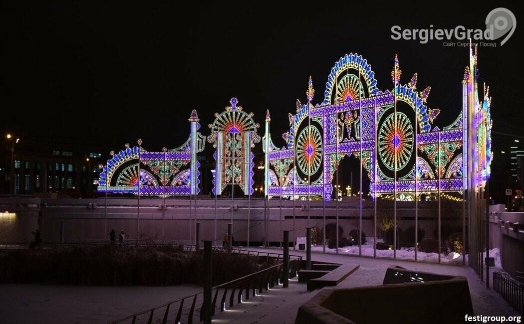 Масштабная световая инсталляция будет создана на территории Троице-Сергиевой Лавры, фото-2