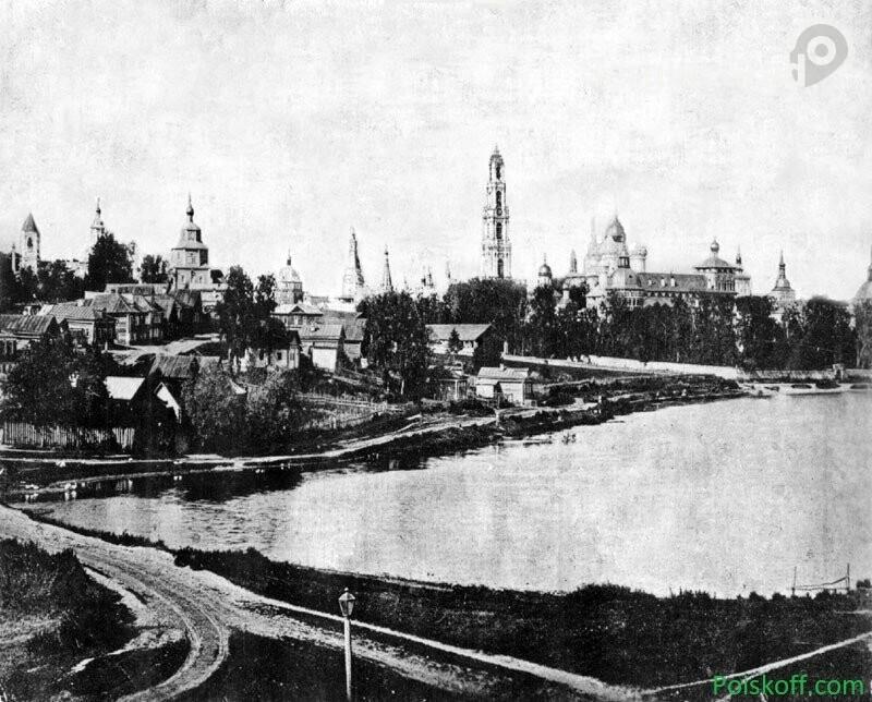 Сергиево-Посадская Келарская набережная в прошлом и настоящем, фото-1
