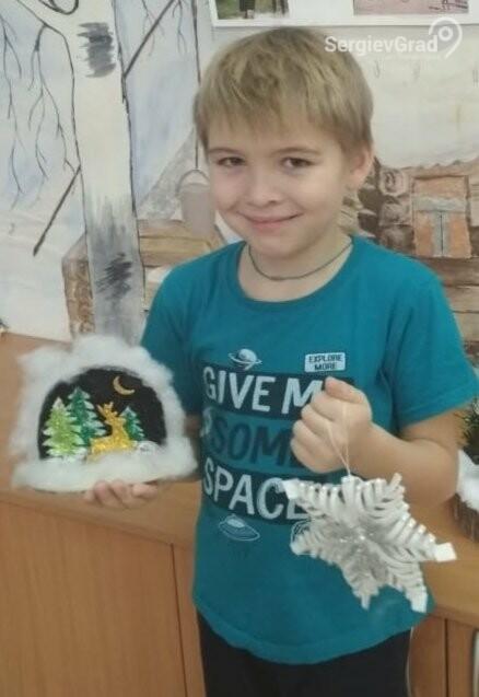 Участник конкурса «Моя новогодняя поделка» – Столяров Дмитрий
