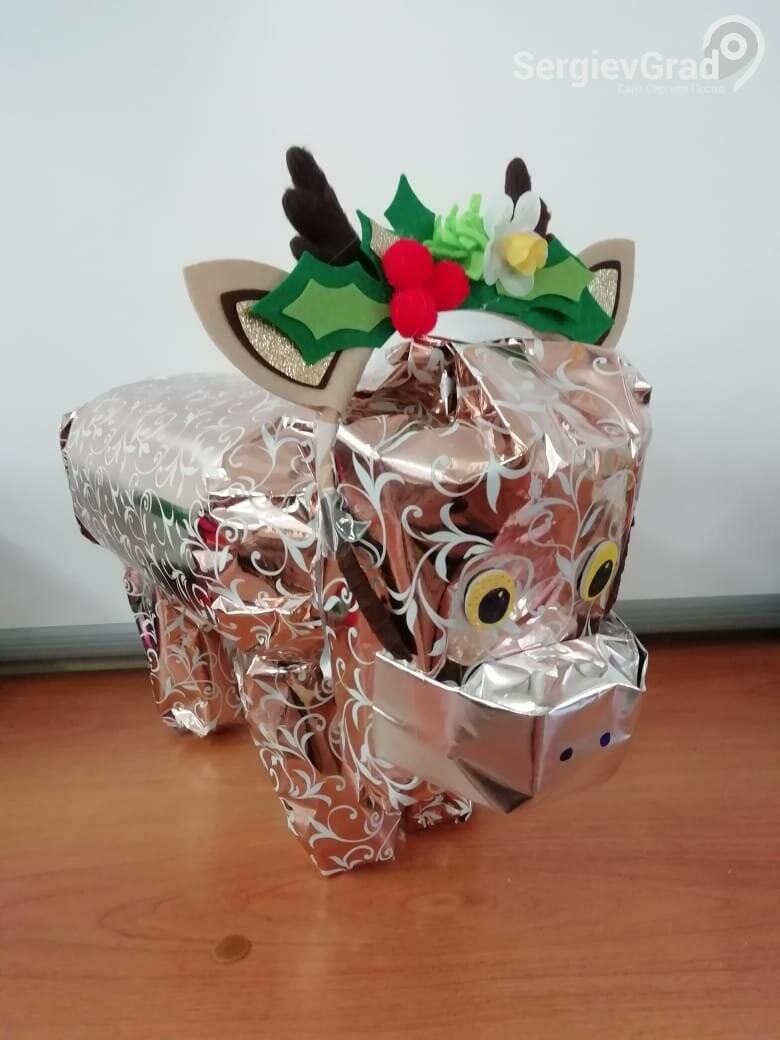 Участник конкурса «Моя новогодняя поделка» – Гутарова Лера, 2 «А» класс