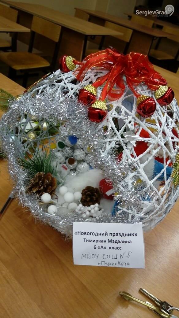 Участник конкурса «Моя новогодняя поделка» – Тимиркан Мэдэлина, МБОУ СОШ №5