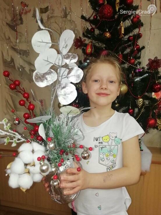 Участник конкурса «Моя новогодняя поделка» – Коробкина Ксюша, 6 лет, МБДОУ №32