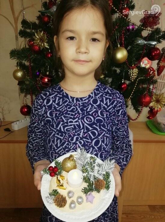 Участник конкурса «Моя новогодняя поделка» – Манахова Ксения, 6 лет, МБДОУ №32