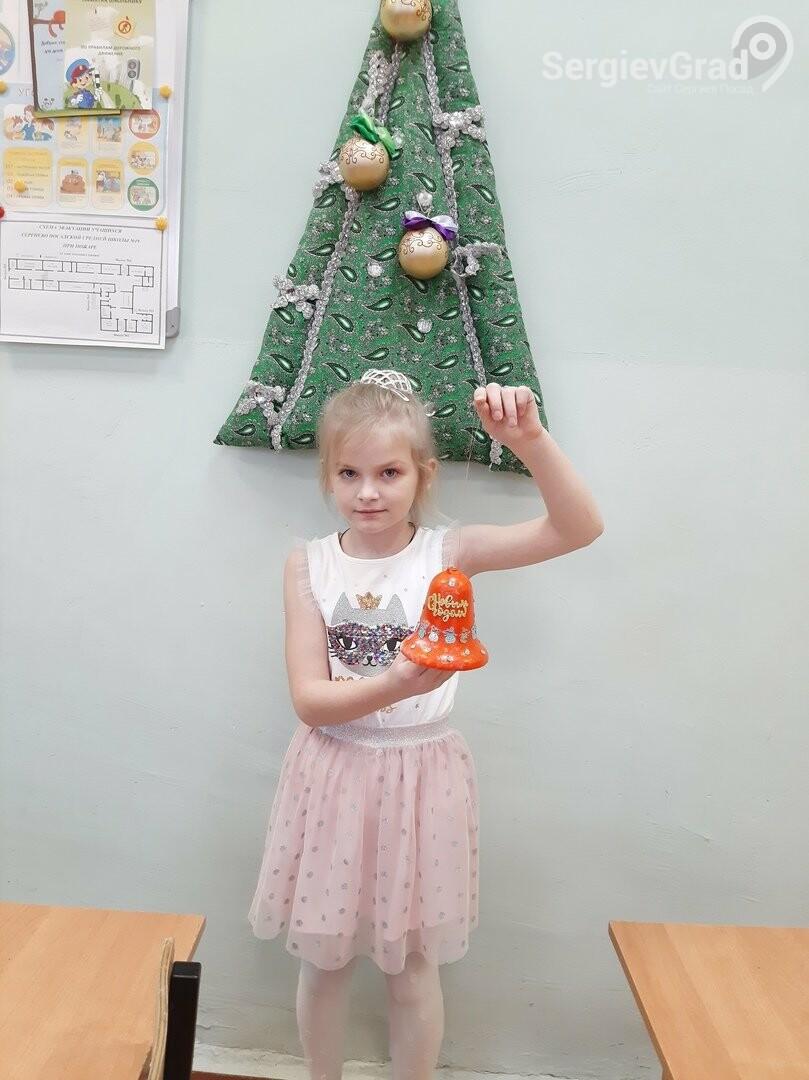 Участница конкурса «Моя новогодняя поделка» – Марочкина Мария, МБОУ СОШ №19