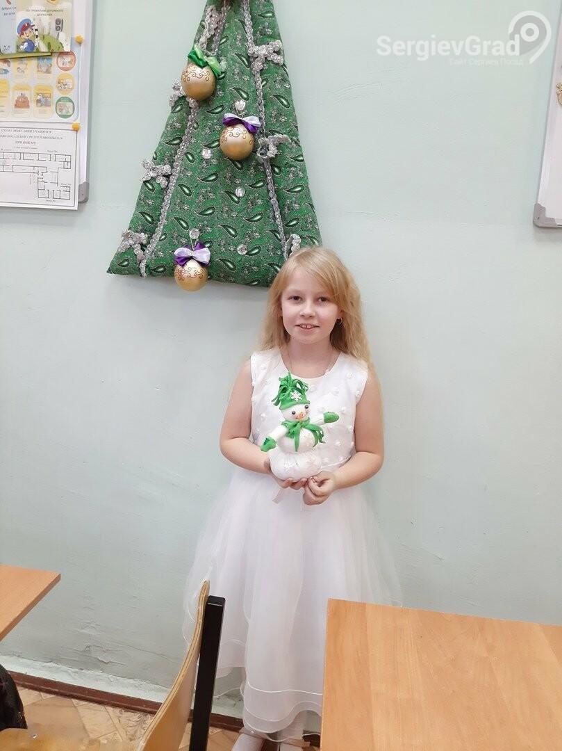 Участница конкурса «Моя новогодняя поделка» – Никитина Дарья, МБОУ СОШ №19