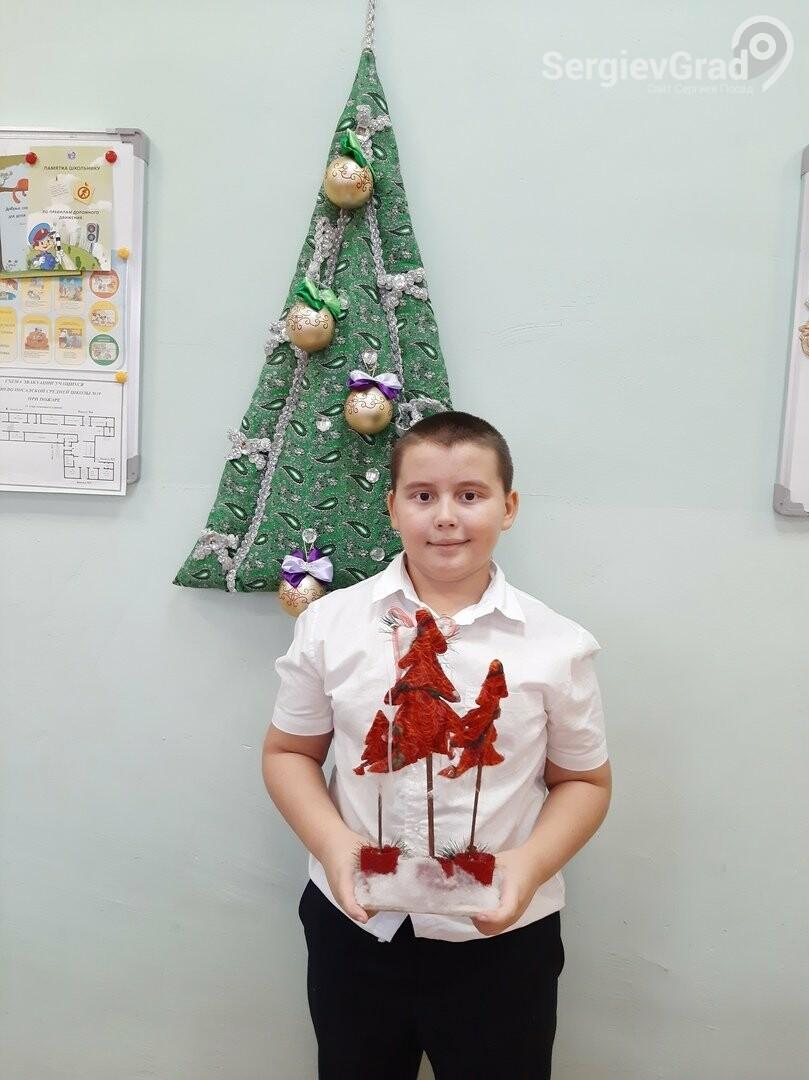 Участник конкурса «Моя новогодняя поделка» – Перегудов Сергей, МБОУ «СОШ №19»