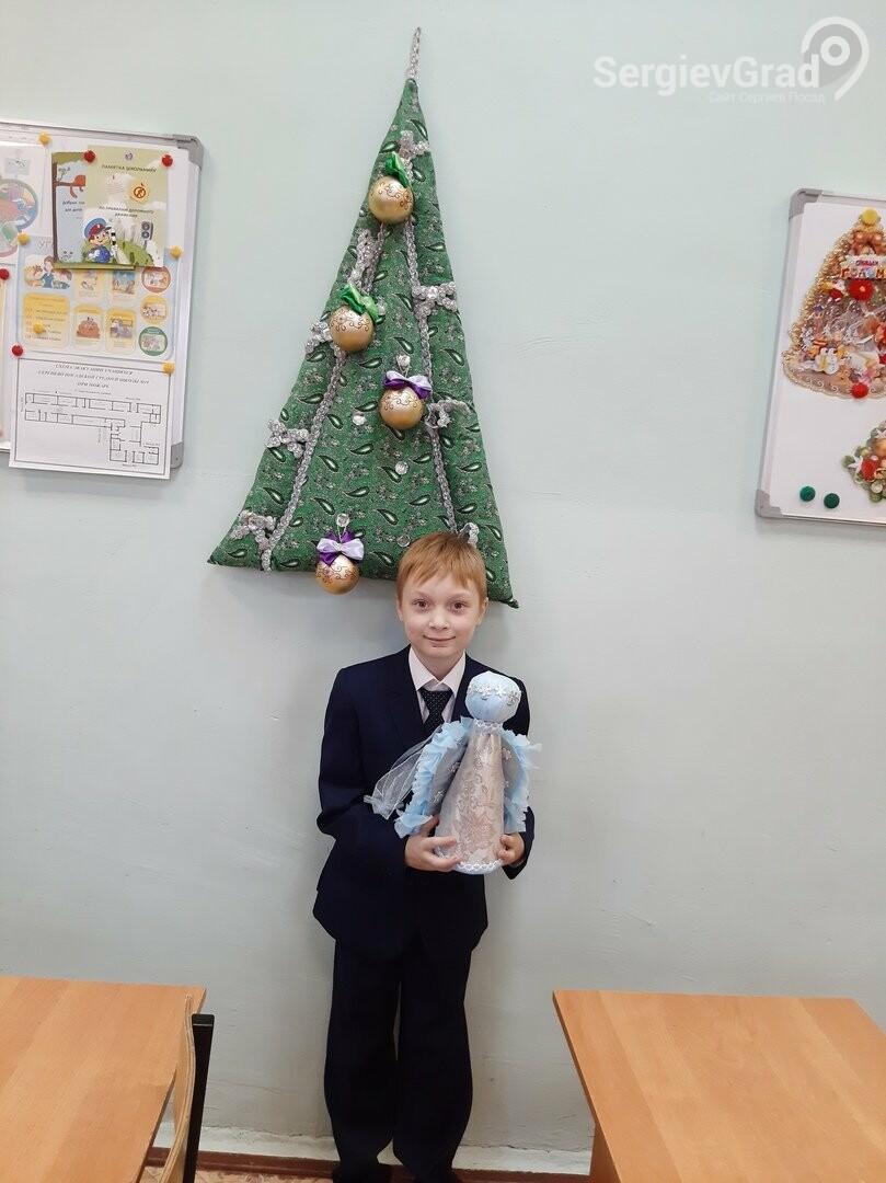 Участник конкурса «Моя новогодняя поделка» – Прохонов Дмитрий, МБОУ «СОШ №19»