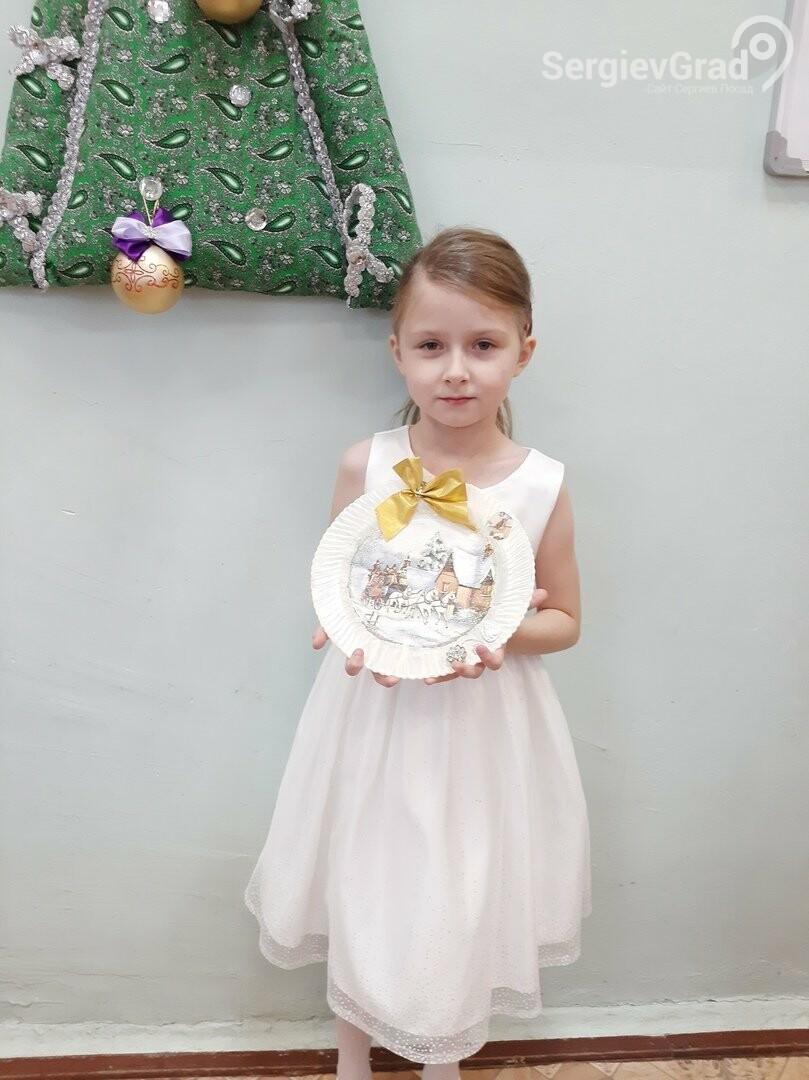 Участница конкурса «Моя новогодняя поделка» – Томачкова Нелли, МБОУ «СОШ №19»