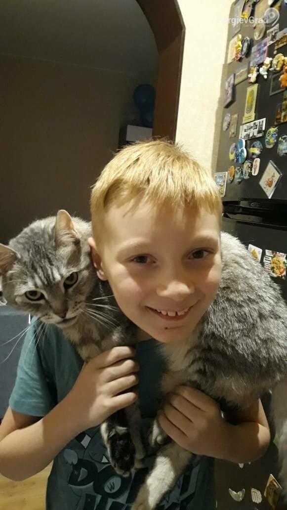 Участник конкурса «Верный друг»: кот Котофей