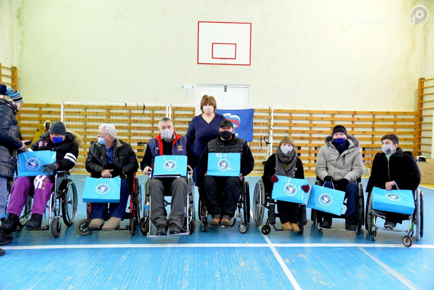 В Сергиево-Посадском районе прошло открытое первенство на Кубок клуба инвалидов-колясочников «Сергий»