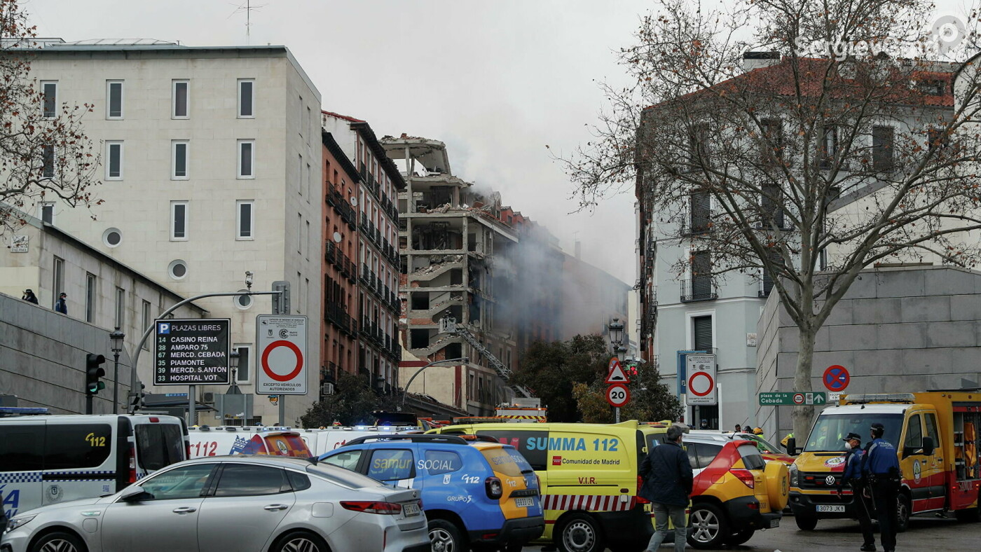 Взрыв в Мадриде: последние новости