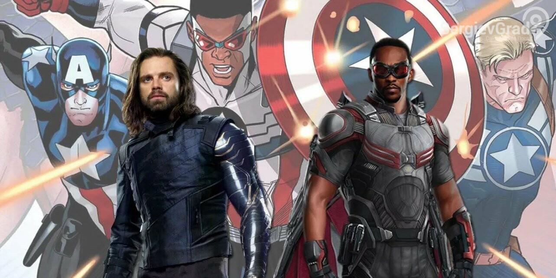 Студия Marvel показала трейлер сериала «Сокол и Зимний солдат