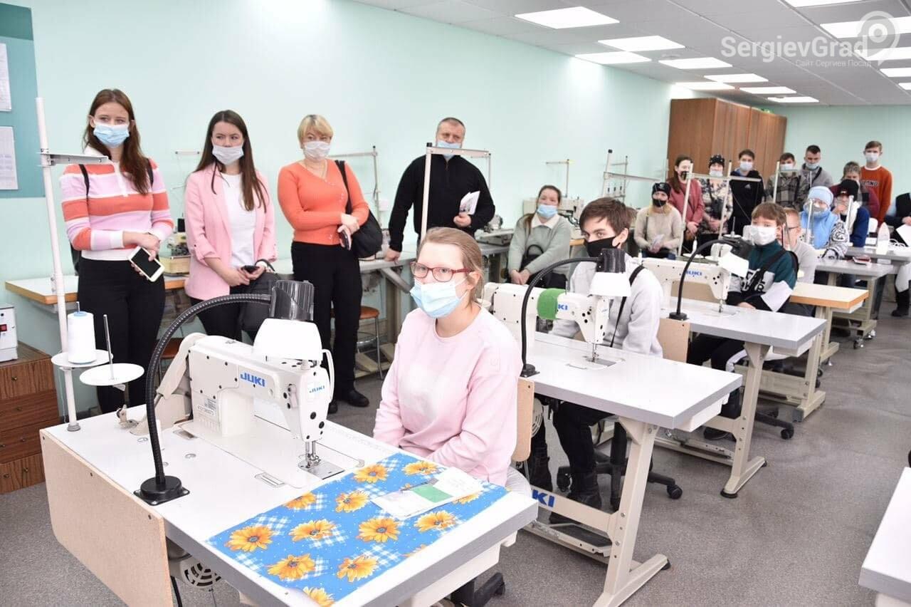 В Сергиево-Посадском социально-экономическом техникуме 6 февраля прошёл День открытых дверей