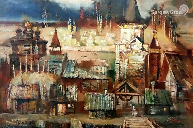 Александровский художественный-краеведческий музей открыл выставку живописцев из Сергиева Посада