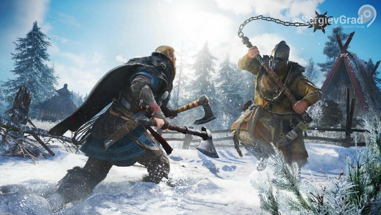 Разработчики Ubisoft добавят в Assassin's Creed Valhalla новые способности и возможности