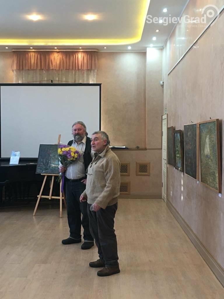 В Сергиевом Посаде открылась художественная выставка «Обаяние пейзажей Валерия Ивановича Сандырева», фото-24