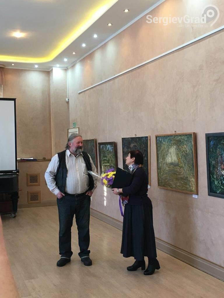 В Сергиевом Посаде открылась художественная выставка «Обаяние пейзажей Валерия Ивановича Сандырева», фото-25