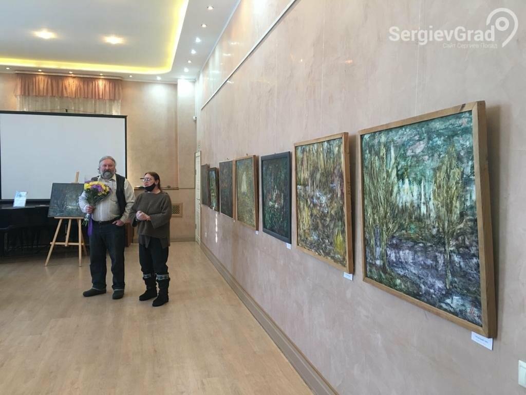 В Сергиевом Посаде открылась художественная выставка «Обаяние пейзажей Валерия Ивановича Сандырева», фото-14