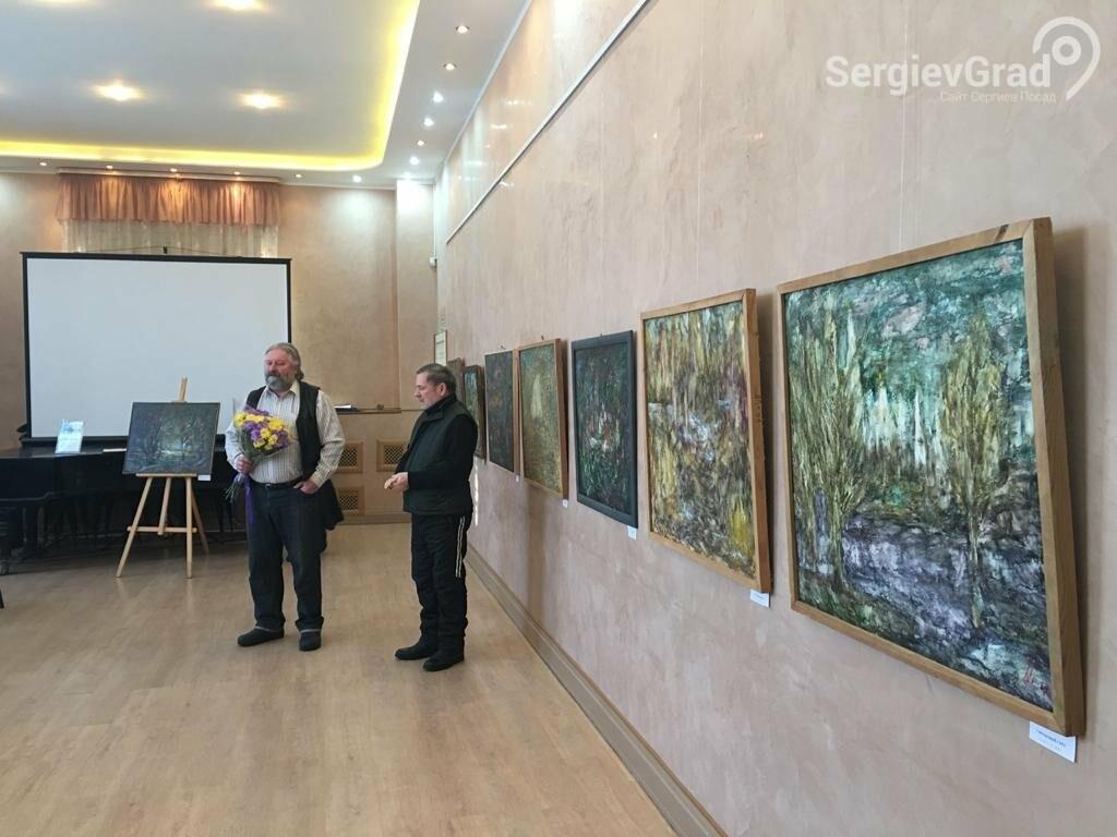 В Сергиевом Посаде открылась художественная выставка «Обаяние пейзажей Валерия Ивановича Сандырева», фото-15