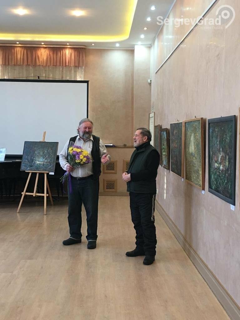 В Сергиевом Посаде открылась художественная выставка «Обаяние пейзажей Валерия Ивановича Сандырева», фото-27