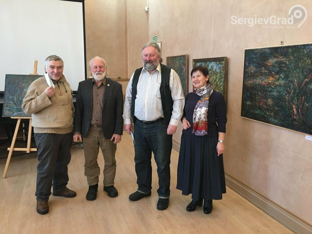 В Сергиевом Посаде открылась художественная выставка «Обаяние пейзажей Валерия Ивановича Сандырева», фото-28