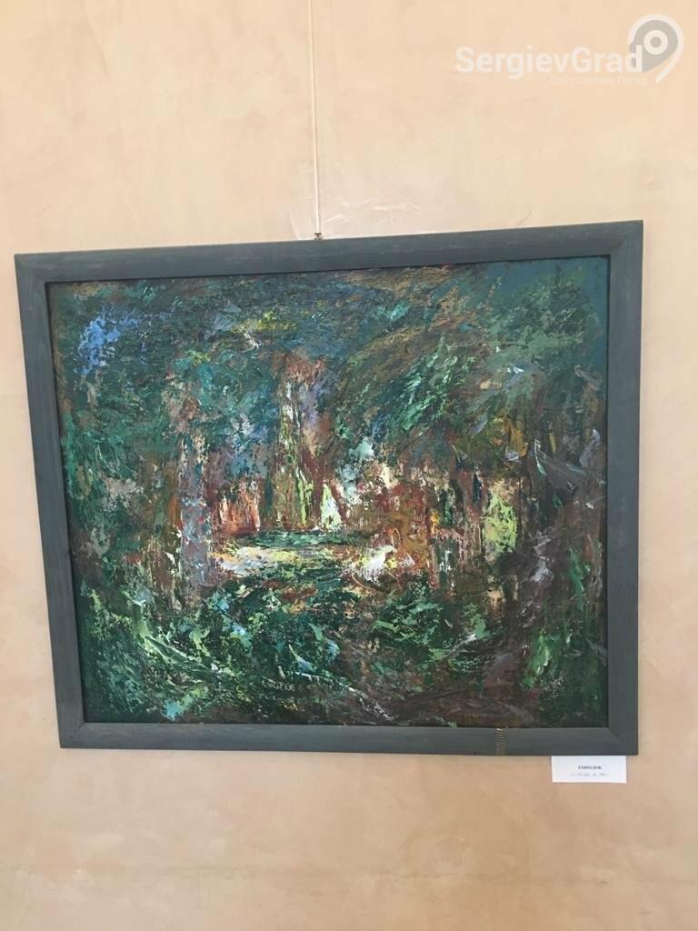 В Сергиевом Посаде открылась художественная выставка «Обаяние пейзажей Валерия Ивановича Сандырева», фото-16