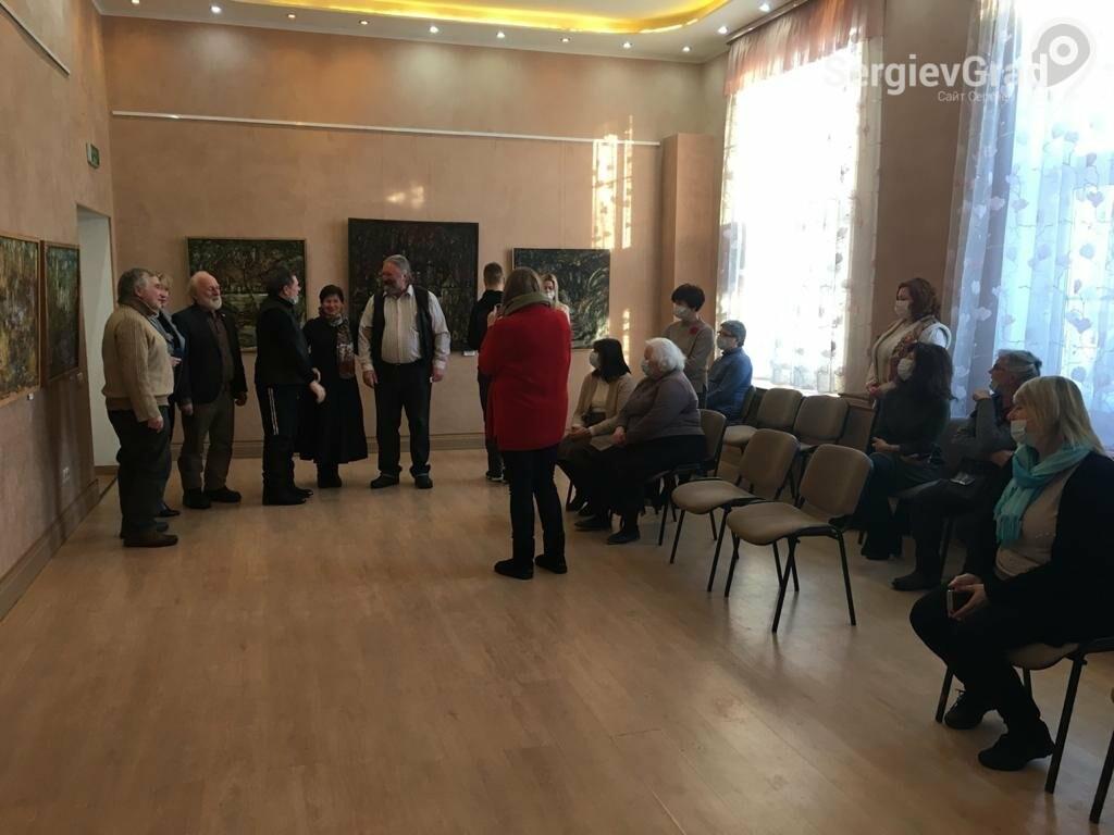 В Сергиевом Посаде открылась художественная выставка «Обаяние пейзажей Валерия Ивановича Сандырева», фото-30