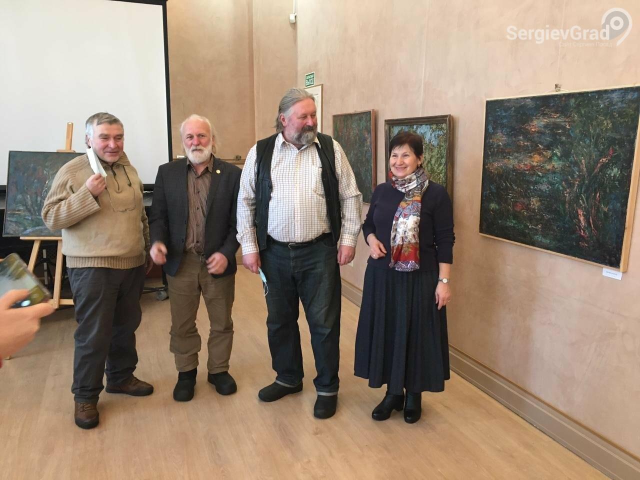 В Сергиевом Посаде открылась художественная выставка «Обаяние пейзажей Валерия Ивановича Сандырева», фото-23