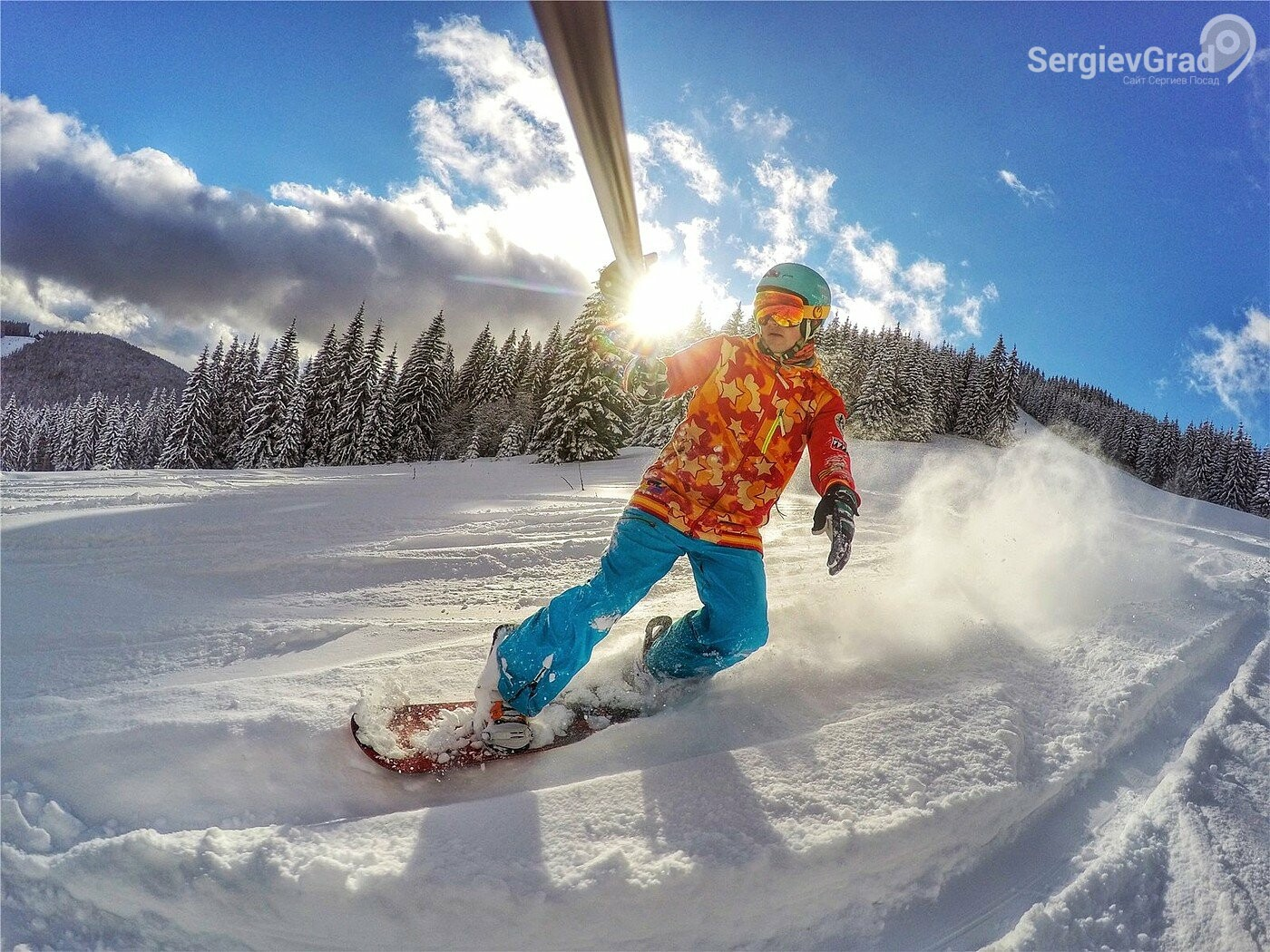 Топ 5 курортов Московской области для катания на сноуборде