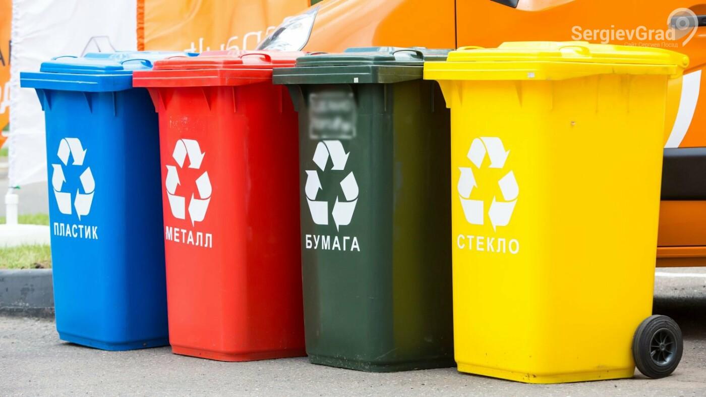 В экологических уроках «Раздельный сбор отходов – мой выбор» приняли участие дети Сергиева Посада