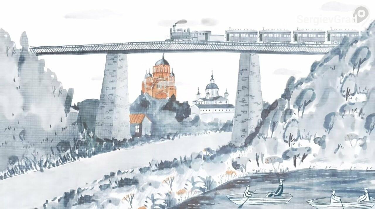 Жителям Хотькова показали сериал «Живые мемории», рассказывающий об истории усадьбы «Абрамцево»