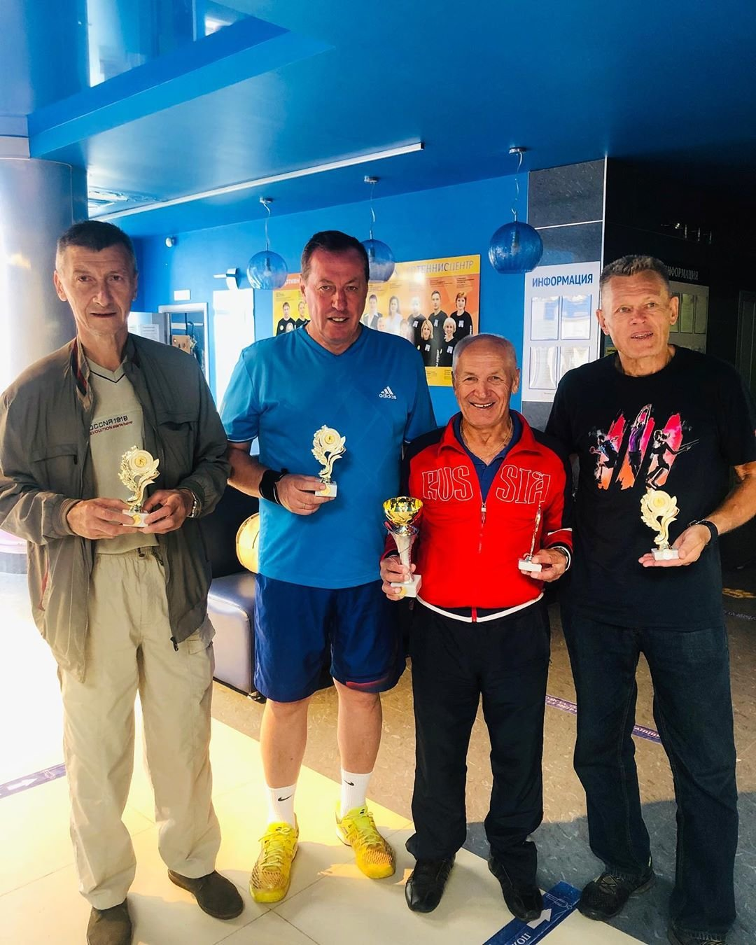 Итоги теннисного турнира «Золотые купола – 2020» среди ветеранов, фото-4