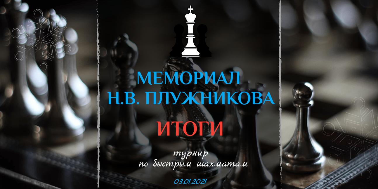 Итоги шахматного турнира «Мемориал Н.В. Плужникова – 2021», фото-1