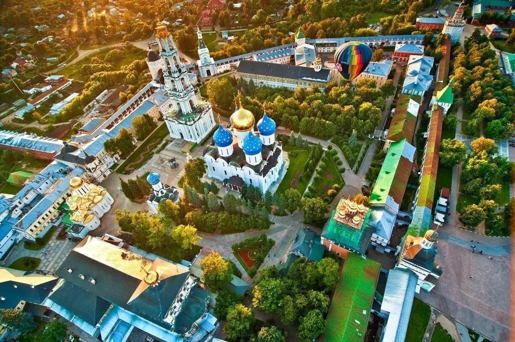 Города Золотого кольца хотят показывать с воздуха в рамках проекта «Авиатуризм