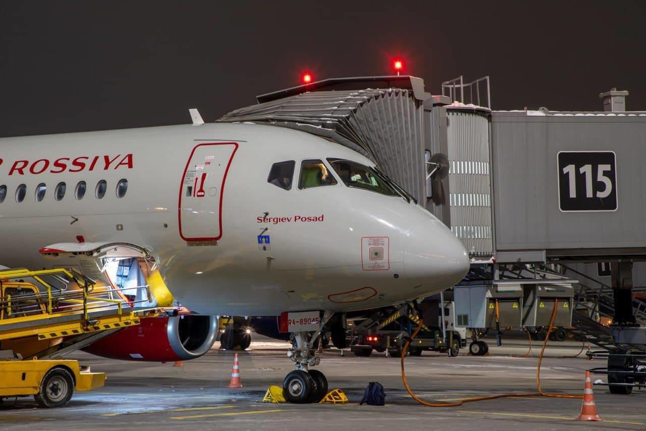 В честь Сергиева Посада назван самолет авиакомпании «Россия»